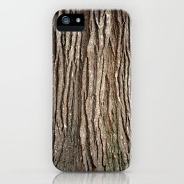 Wood bark iPhone Case