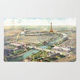 Paris World Fair 1900 Rug