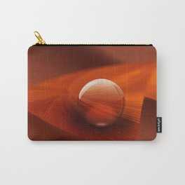 Orange Ball Carry-All Pouch