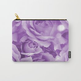 Violet Rose Bouquet For You - Valentine's Day #decor #society6 #homedecor Carry-All Pouch