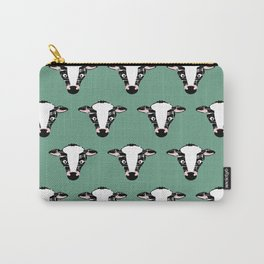 Cute Cow Face pattern Carry-All Pouch