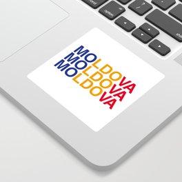 MOLDOVA Sticker
