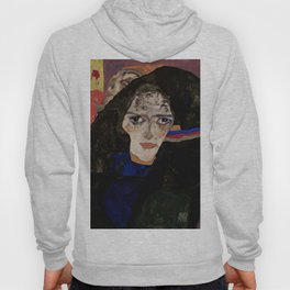 "Egon Schiele ""Mourning Woman"" Hoody"