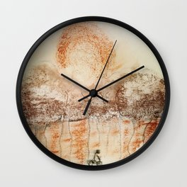 Keep Racing Forward Wall Clock