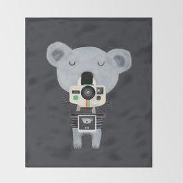 koala cam Throw Blanket