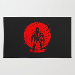 Red Logan Rug