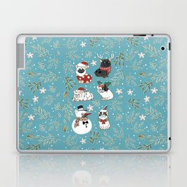 Christmas French Bulldog Laptop & iPad Skin