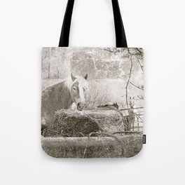 Farm Horse & Friends Tote Bag