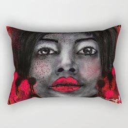 Chin-up!! Rectangular Pillow