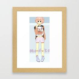 Rebellion Madoka Framed Art Print