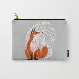 The Fox Says Carry-All Pouch