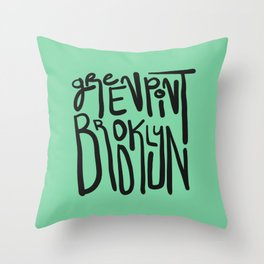 Greenpoint, Brooklyn Throw Pillow