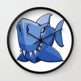 Shark - Little Boy Blue Wall Clock