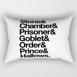 Stone & Chamber & Prisoner & Goblet & Order & Prince & Hallows Rectangular Pillow