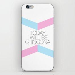 Chingona iPhone Skin