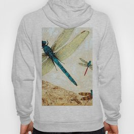 Zen Flight - Dragonfly Art By Sharon Cummings Hoody