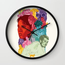 Dirk Gently's Holistic Detective Agency Wall Clock