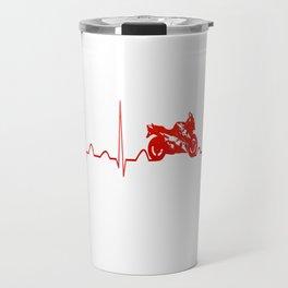 MOTORBIKE HEARTBEAT Travel Mug