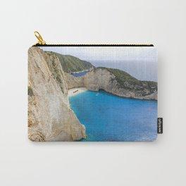 Navagio Beach with Shipwreckon Zakynthos Island, Greece Carry-All Pouch