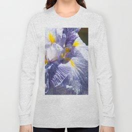 The love of the Iris by Teresa Thompson Long Sleeve T-shirt