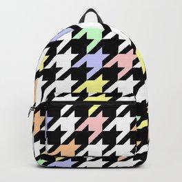 Houndstooth pattern Backpack