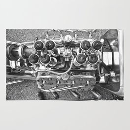 Flathead - Hot Rod Engine Rug