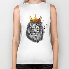 lion king Biker Tank