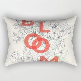 Vintage Bloom #society6 Rectangular Pillow