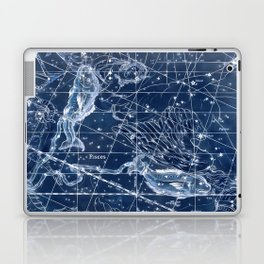 Pisces sky star map Laptop & iPad Skin