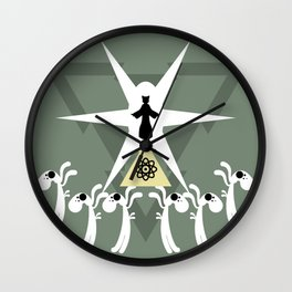 A Piece of History Wall Clock