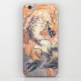 Hanami cat iPhone Skin