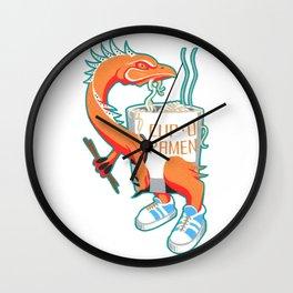 """Cup O Ramen"" Kaiju Monster Wall Clock"
