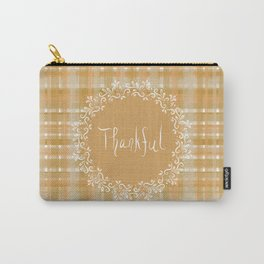 Autumn Weave Thankful Carry-All Pouch