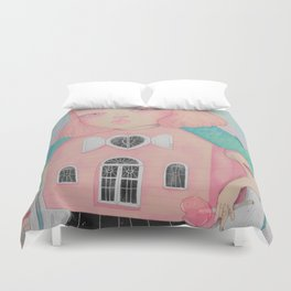 Dollhouse Duvet Cover