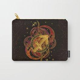 Sagittarius Zodiac Sign Fire element Carry-All Pouch