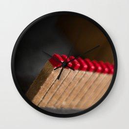 Redness  Wall Clock