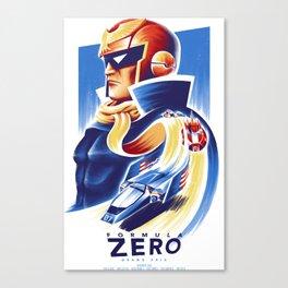 Formula Zero (Open Edition) Canvas Print