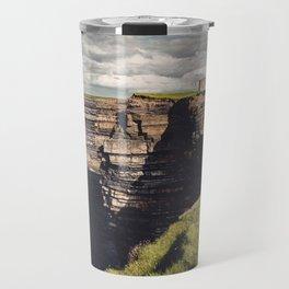 Irish Sea Cliffs Travel Mug
