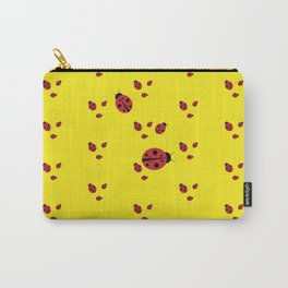 Lady-pattern-bug Carry-All Pouch