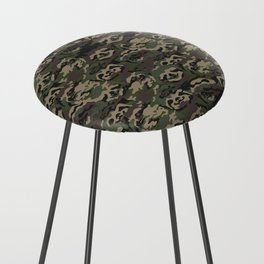 Sloth Camouflage Counter Stool
