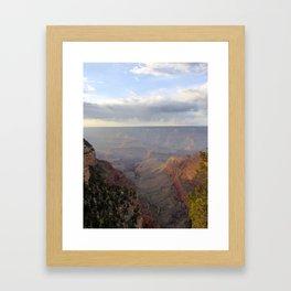 Rain over the Canyon Framed Art Print