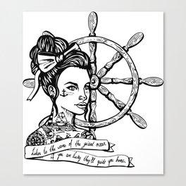 Sailor Woman Canvas Print
