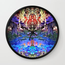 Temple of Dreams Wall Clock