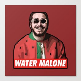 water malone Canvas Print