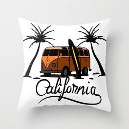 Calfornia Throw Pillow