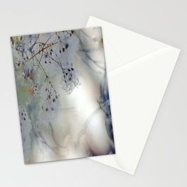 White Weeds Stationery Cards