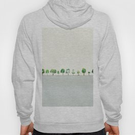 A Row Of Trees Hoody