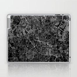 Jakarta Black Map Laptop & iPad Skin