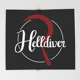 The Helldiver Throw Blanket