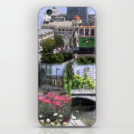 Christchurch Collage No 2 iPhone Skin